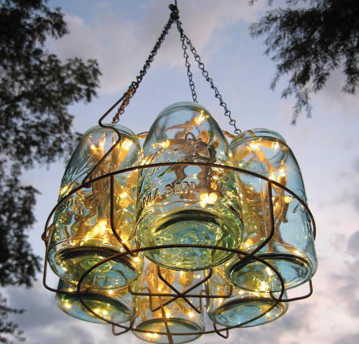 Авторский светильник для освещения дачной территории