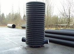 Полимерные колодцы для канализации