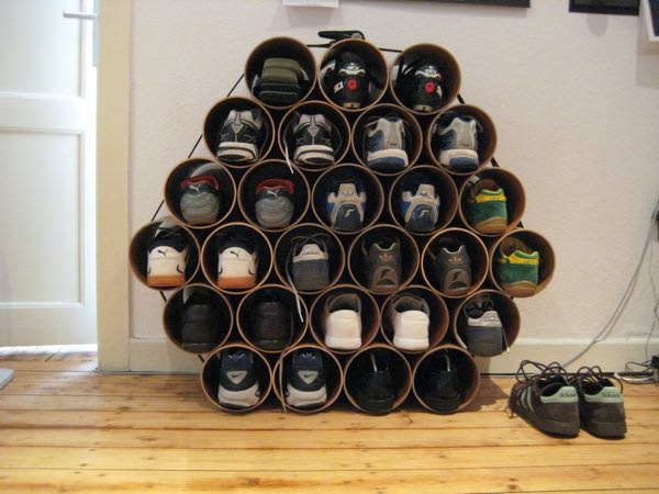 Органайзер для обуви своими руками фото