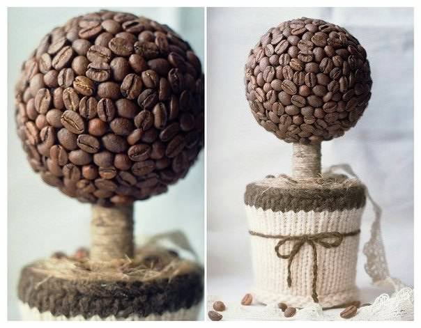 Кофейное дерево своими руками пошагово