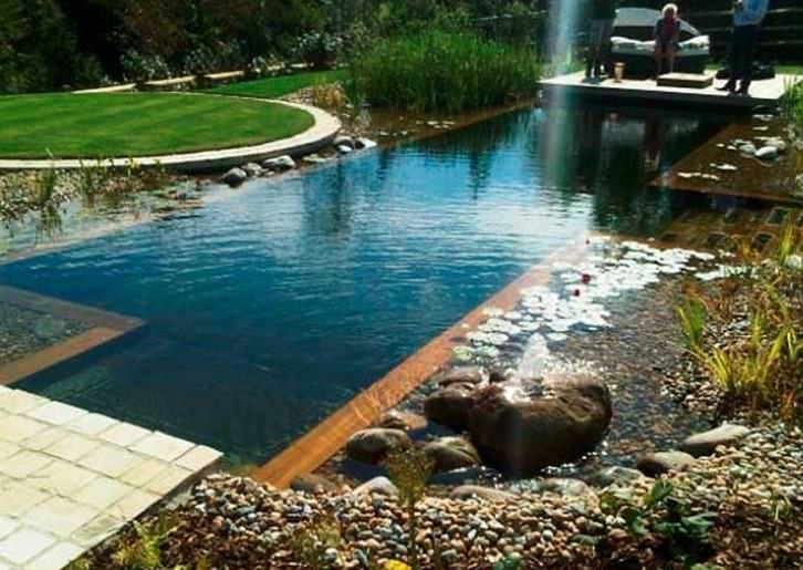 Как сделать пруд для купания