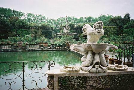 Красивые места садов Боболи