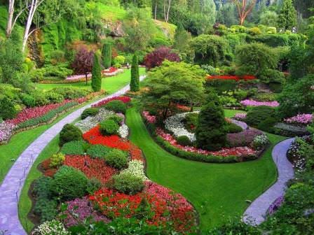 Прекрасные сады Бутчартов
