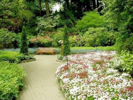 Сад Бутчартов летом