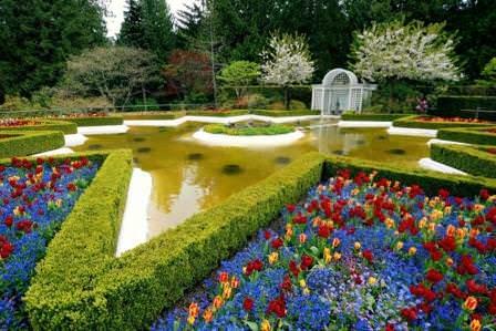 Современные сады Бутчартов