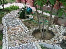 Садовые дорожки из гальки на вашей даче