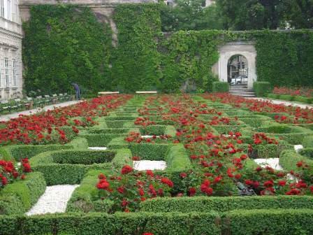 Лабиринты сада