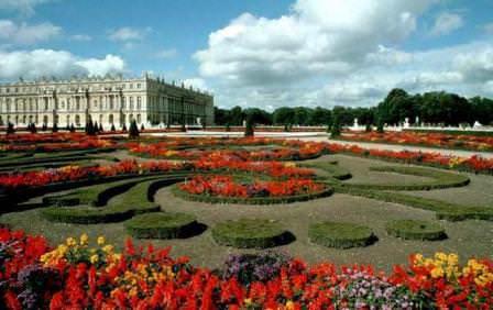 Оформление садов Версаля