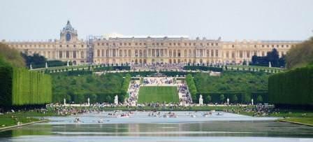 Элементы с водой в садах Версаля