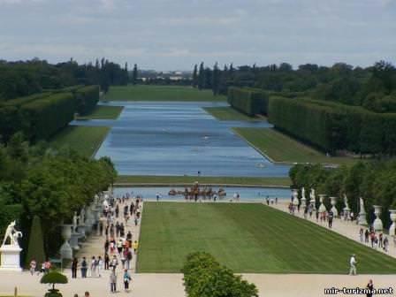 Водные артерии садов Версаля