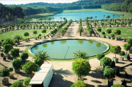 Бассейны садов Версаля