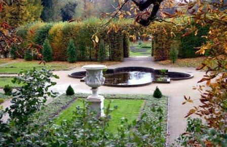 Водные элементы парка