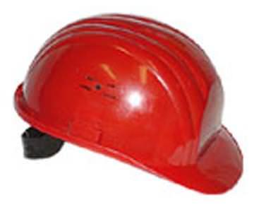 Защита головы с помощью каски при любых строительных работах
