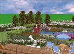 Программа для ландшафтного дизайна Наш Сад Рубин 9.0: скачать бесплатно
