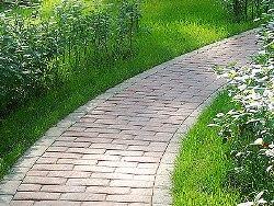 Уход за садовой дорожкой