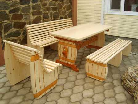 Портативная садовая мебель