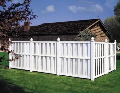 Пластмассовый забор
