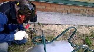 Как сделать тележку для дачи своими руками