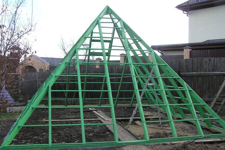 Построить пирамиду своими руками фото