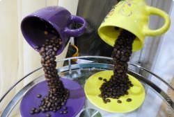 Топиарий из кружки - оригинальный подарок для близких, который можно сделать своими руками