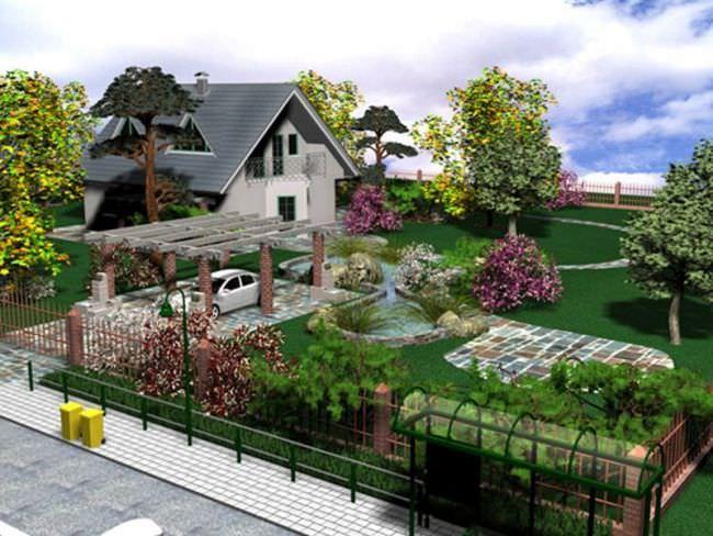 Самостоятельно изготовить проект загородного, приусадебного или дачного участка довольно непросто, но вполне выполнимо