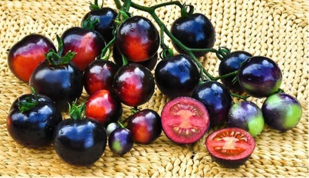 Черные помидоры обладают сладковатым вкусом