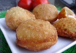 Пирожки-бомбочки с разными начинками