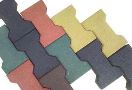 Достоинства резиновой плитки