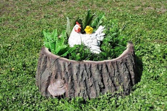 Как использовать сухое дерево в саду