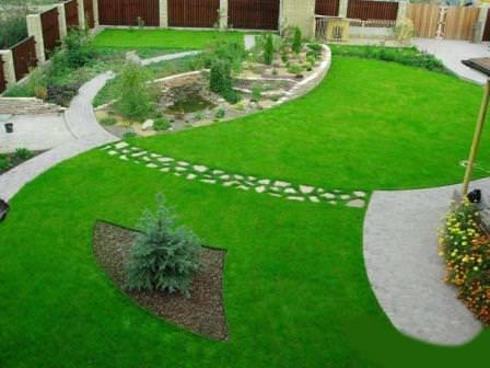 Рулонная газонная трава равномерна, устойчива к сорнякам, вытаптыванию и заморозкам