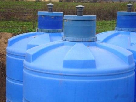 Готовые пластиковые емкости для выгребной ямы