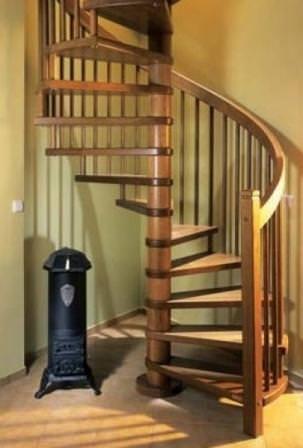 Диаметр будущей лестницы равен сумме её удвоенной ширины и толщины (диаметра) стойки-опоры