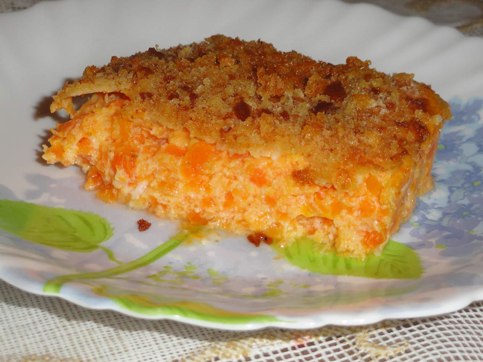 Запеканка морковно творожная рецепты с пошагово в