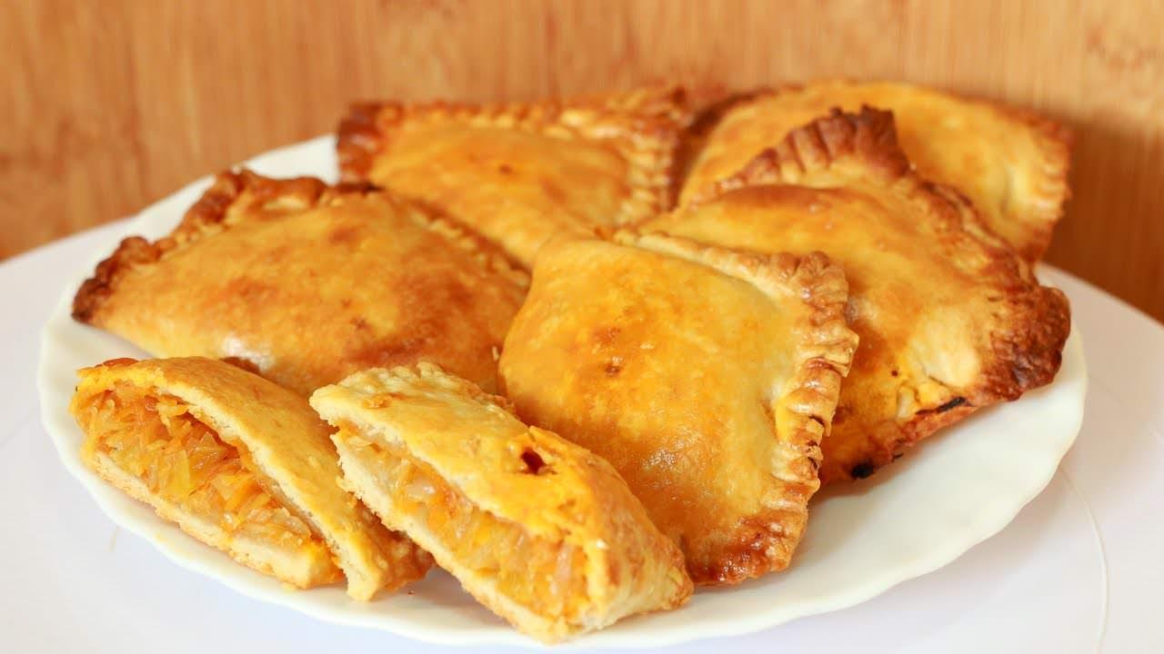 Пироги с капустой из слоёного теста рецепты