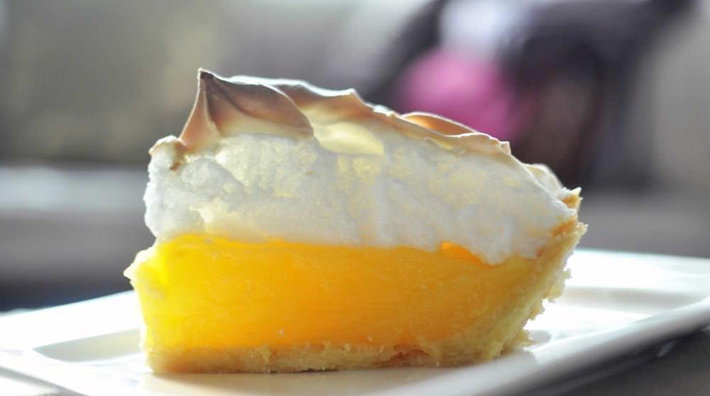 Лимонный торт с меренгой рецепт с фото