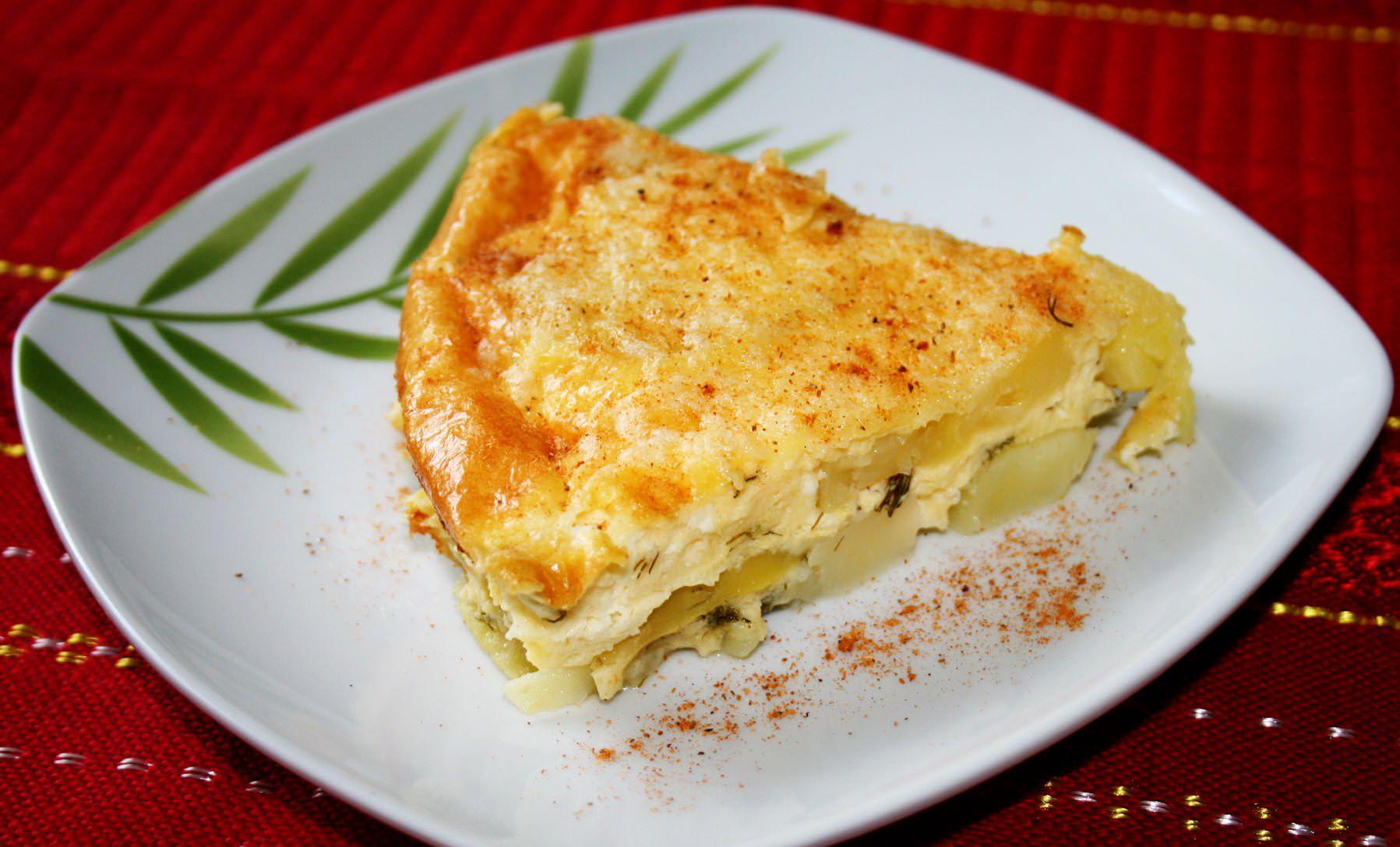 Картофельная запеканка без мяса рецепт с фото пошагово