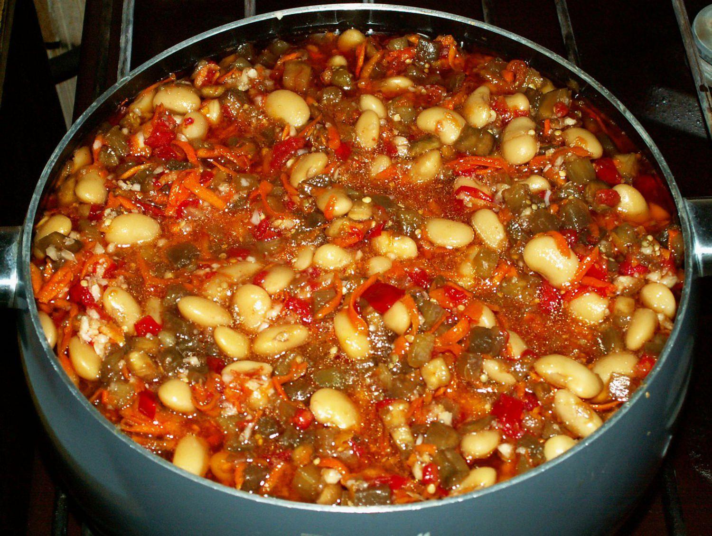 Салат с фасолью на зиму очень вкусные с рецепты