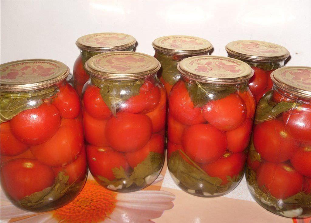 Рецепт вкусных помидор на зиму в банки