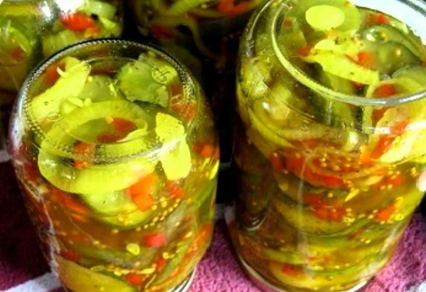 Как закрутить кабачки на зиму рецепты пошаговый с