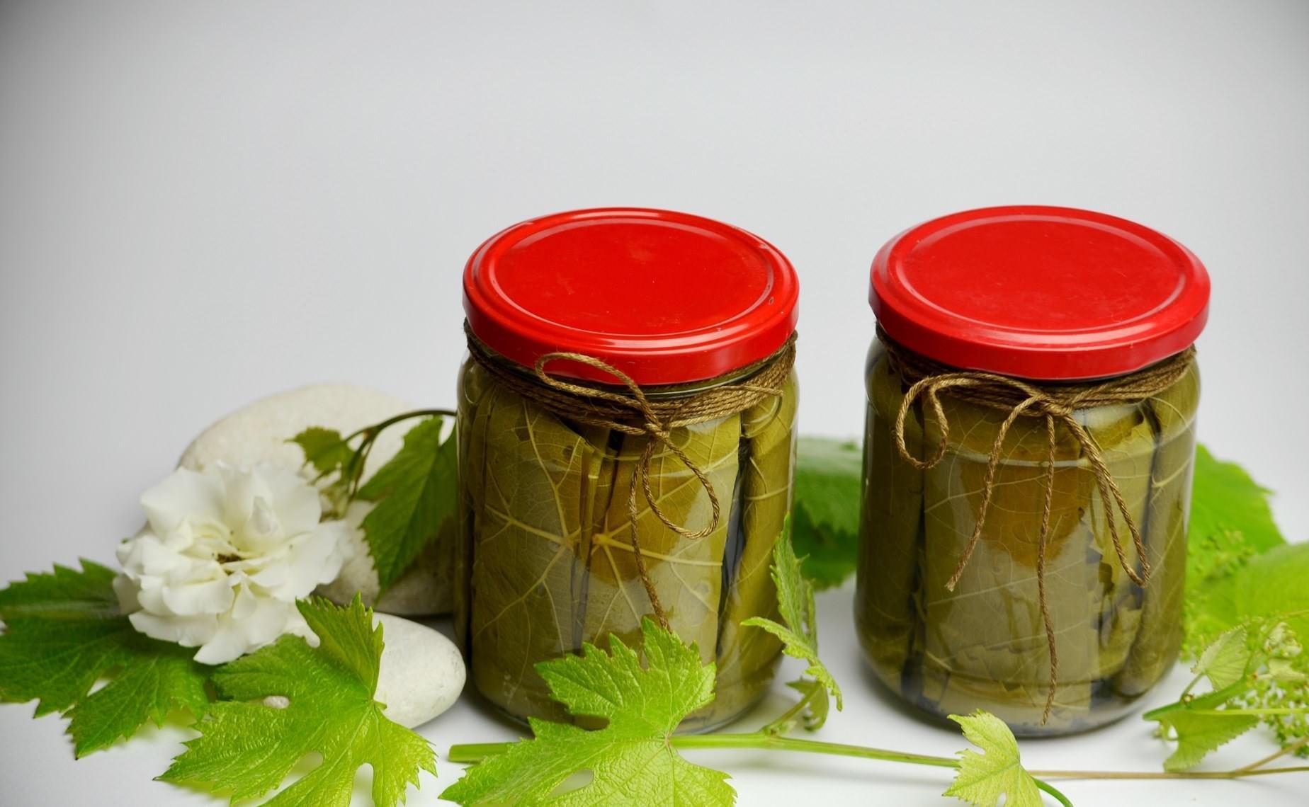 Консервированные листья винограда рецепт