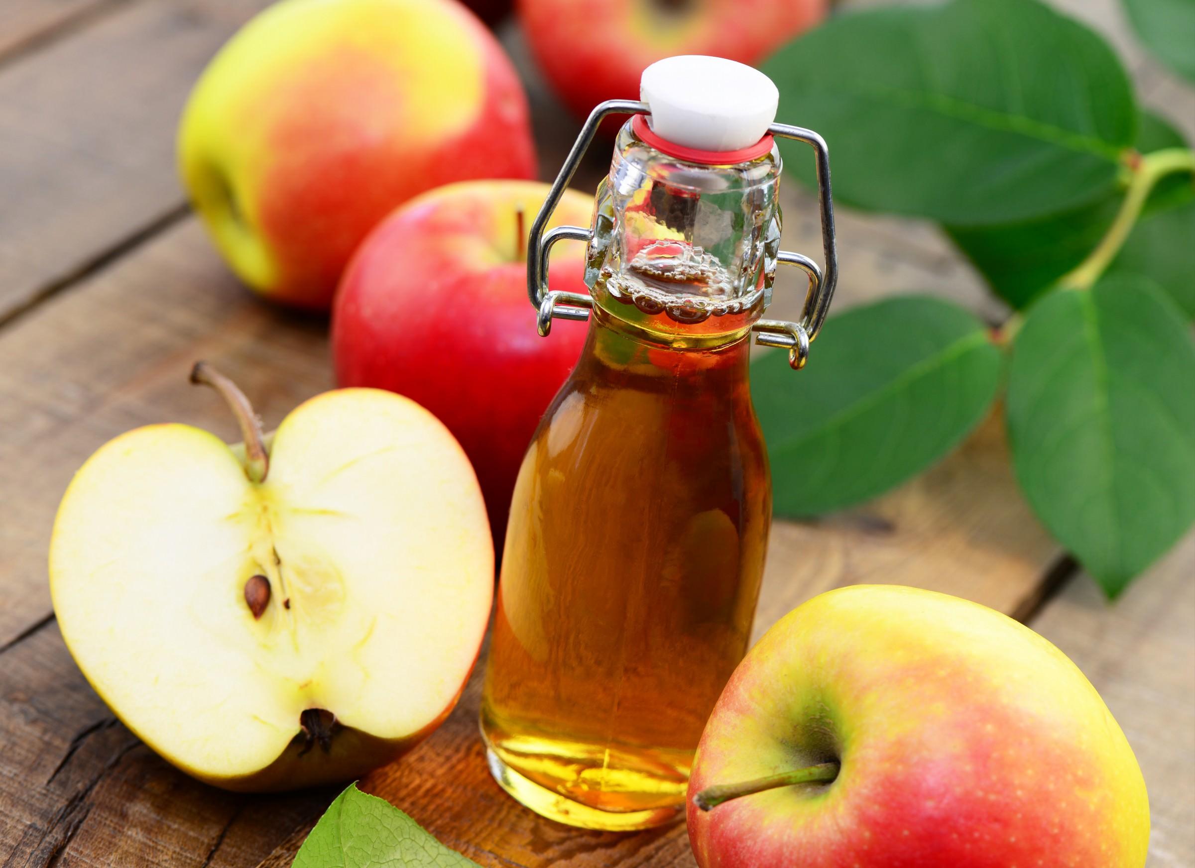 Лечение волос яблочным уксусом