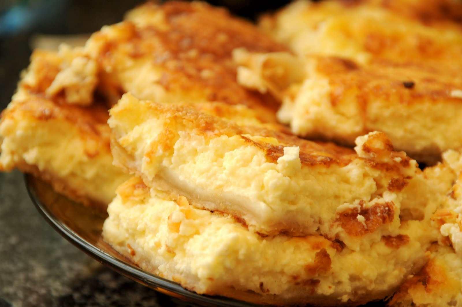 Очень вкусный пирог с сыром рецепт