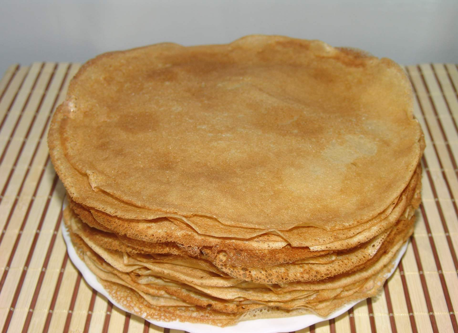 Толстые блины на молоке рецепт пошаговое