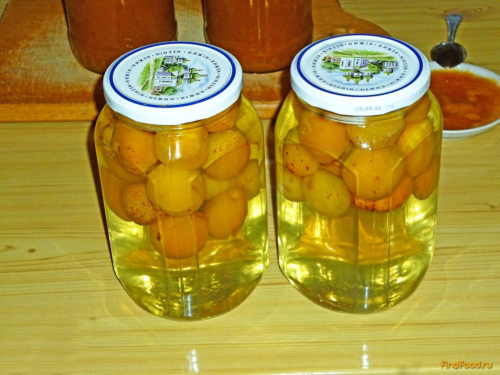 Компот абрикосовый в домашних условиях