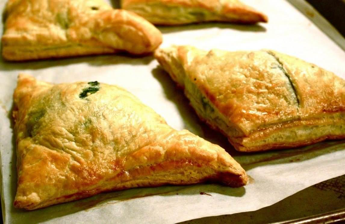 Слоеное тесто и рикотта рецепт