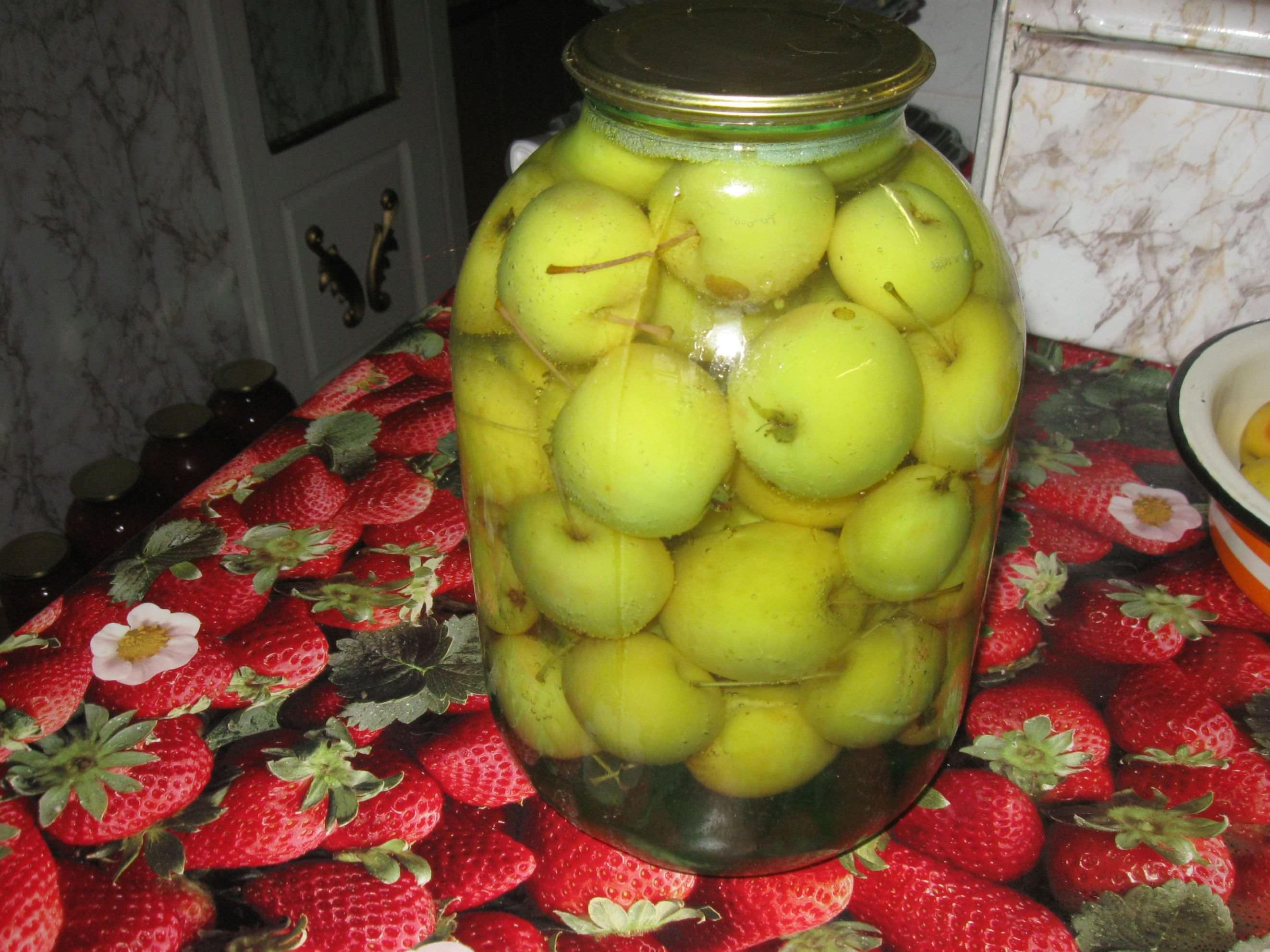 Рецепты консервации с яблоками
