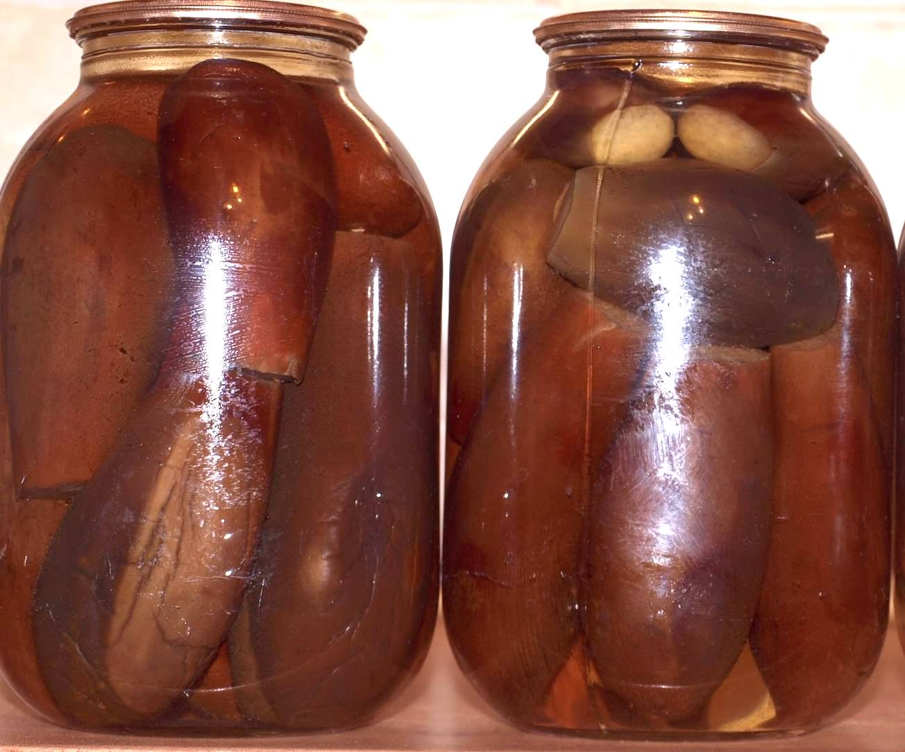 Рецепт из баклажан для консервации