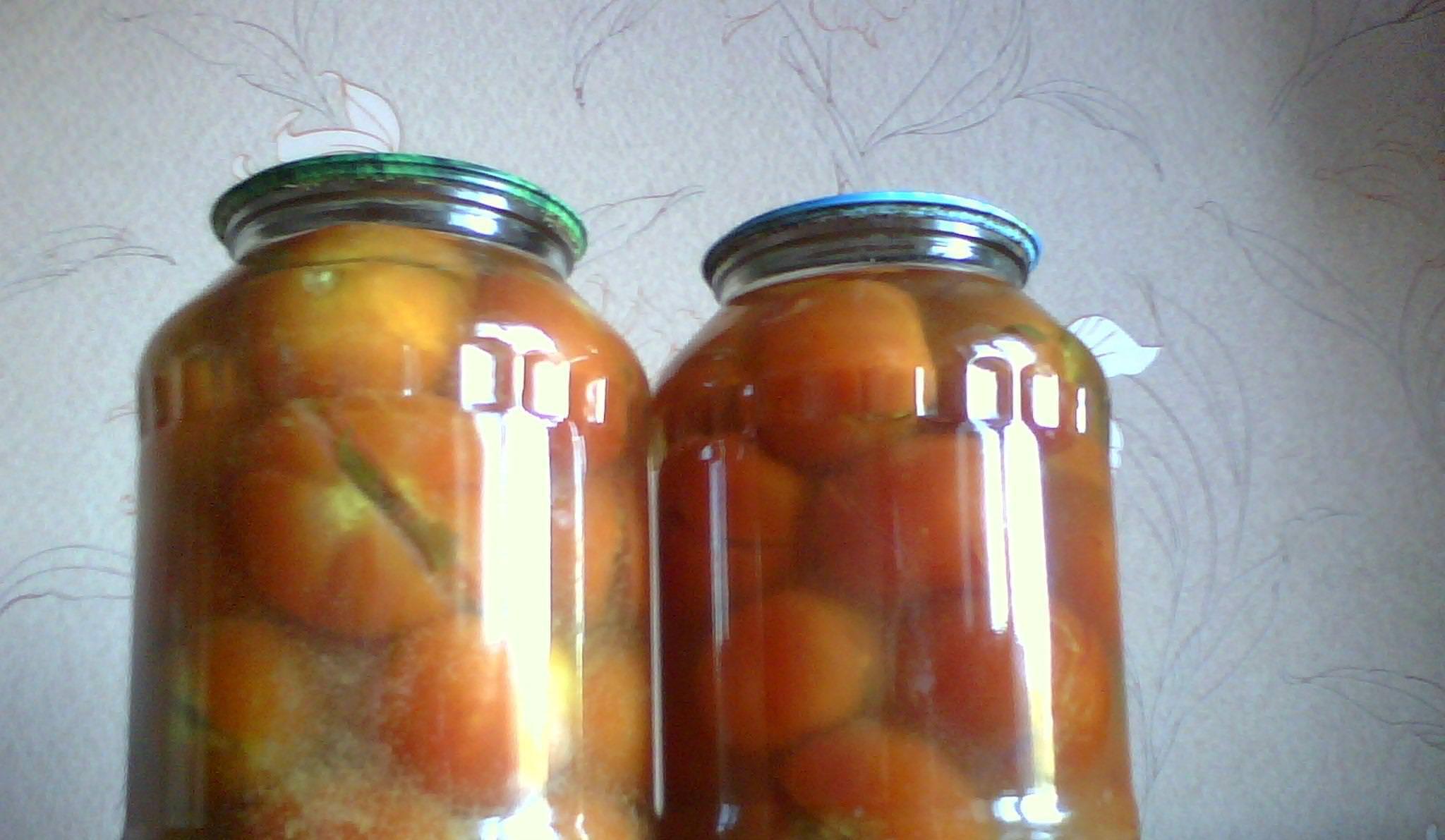 Консервация помидоры с огурцами пошаговый рецепт