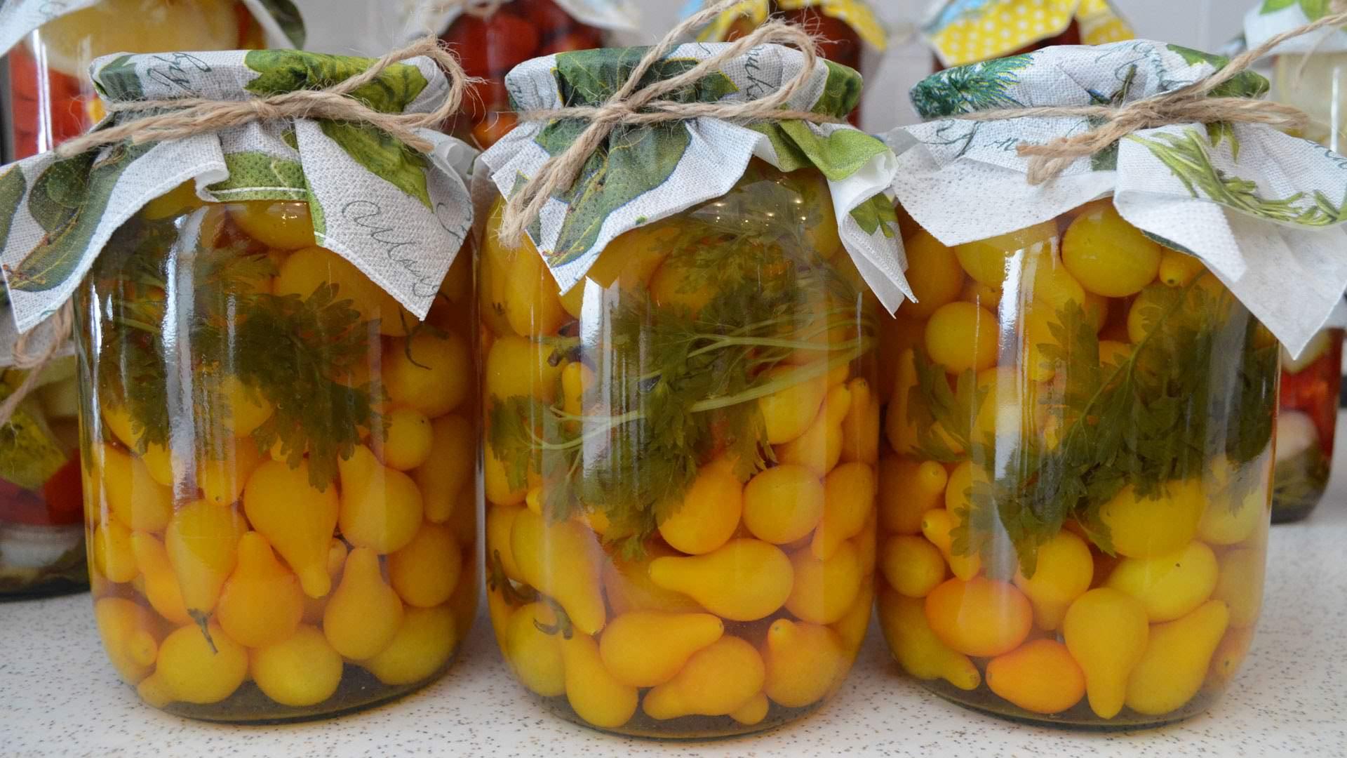 Желтые помидоры рецепты