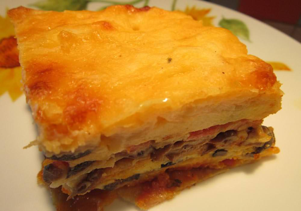 Рецепт салата тортик